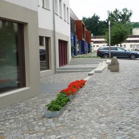 Innenhof Hellerauer Werkstätten